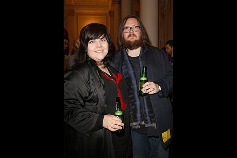 Filmmakers Iain Forsyth and Jane Pollard attend The Big Sundance London Party at the Langham Hotel on June 2, 2016 in London, England.